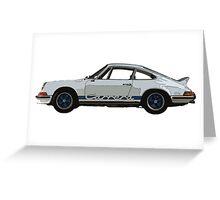 Porsche 911 Carrera Greeting Card