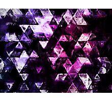 galaxy triangles Photographic Print