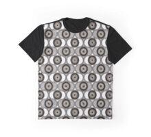 Abstract Circles Graphic T-Shirt