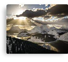 Shining Rays Canvas Print