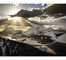 Shining Rays Photographic Print