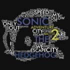Sonic - City Escape Typography by Anubins