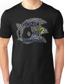 Sonic - City Escape Typography Unisex T-Shirt