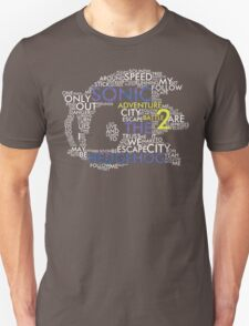 Sonic - City Escape Typography T-Shirt