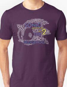 Sonic - City Escape Typography T-Shirt