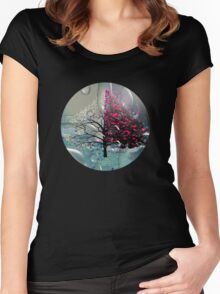 Planet Tree3 Women's Fitted Scoop T-Shirt