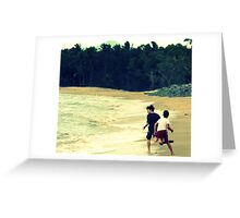 Beach boys... Greeting Card