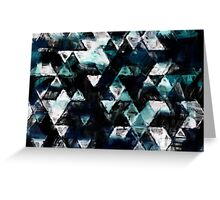 triangle schetchy  Greeting Card