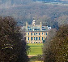 View of Belton House from Bellmount by Mark Baldwyn