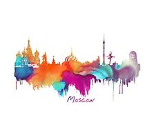 Moscow Photographic Print