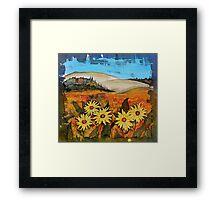 Prairie Wildflowers Framed Print