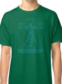 Vitruvian Cyborg Classic T-Shirt