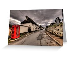 Dunsford Village Greeting Card