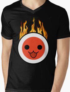 taiko fire Mens V-Neck T-Shirt