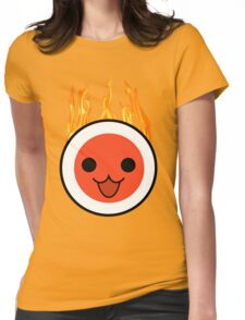 taiko fire Womens Fitted T-Shirt