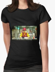 The Lock Out Womens Fitted T-Shirt