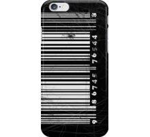 BW bar code iPhone Case/Skin