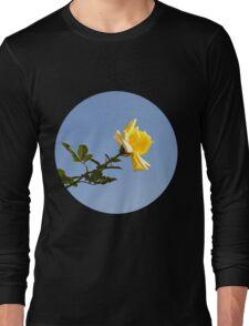 Yellow Rose Long Sleeve T-Shirt