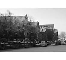 Frozen Town Photographic Print