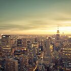 New York City - Skyline Cityscape by Vivienne Gucwa