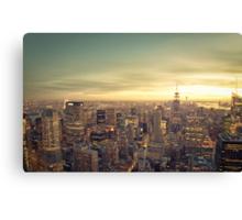 New York City - Skyline Cityscape Canvas Print