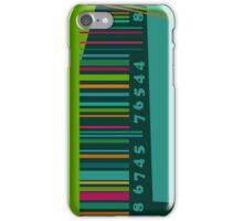 Colorful decorative bar code iPhone Case/Skin
