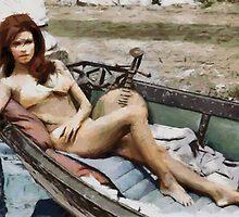 Girl in a Boat by leapdaybride
