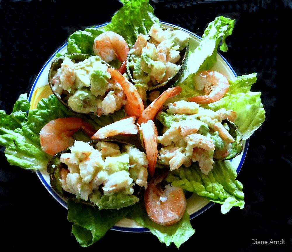 Shrimp Stuffed Avocado Salad by Diane Arndt