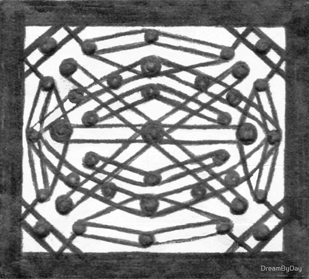Black & White Symmetrical Box Design by DreamByDay