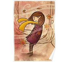 Autumn Wind Poster