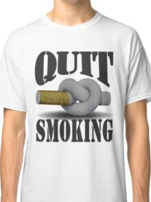 Quit smoking Classic T-Shirt