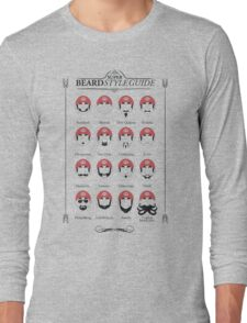 Super Mario - Beard Style Guide T-Shirt