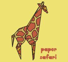 Paper Safari (giraffe) by bexcaboo