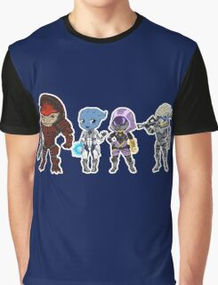 Mass Effect Crew Graphic T-Shirt