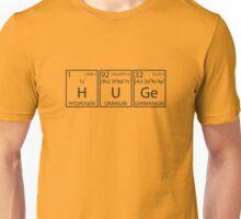 H U Ge (Black Print) Unisex T-Shirt