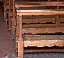 Well Worn Pews by phil decocco