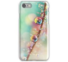 Rainbow Smoke Drops iPhone Case/Skin