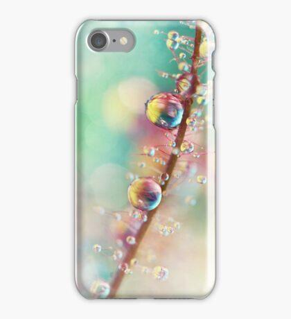 Rainbow Smoke Drops iPhone Case/Skin