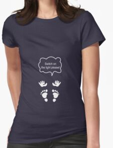 Switch on the light - Funny maternity t-shirt T-Shirt
