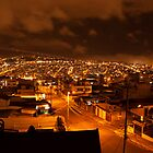 Skytrail Panorama, Quito, Ecuador by Paul Wolf