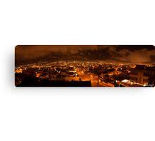 Skytrail Panorama, Quito, Ecuador Canvas Print