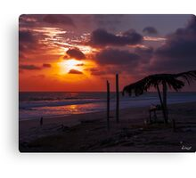 After the Beach Party  Canvas Print