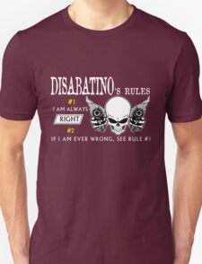 DISABATINO Rule Team T-Shirt