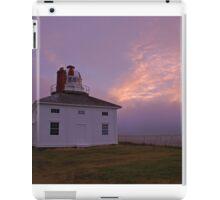 The old light at Cape Spear -- sunrise iPad Case/Skin