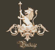 Vintage Lion Crest by Sarah  Eldred