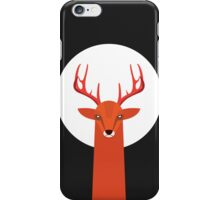 Deer and Moon iPhone Case/Skin