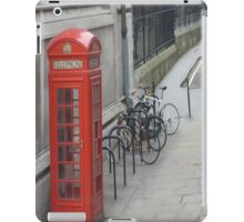 London Red Phone Box iPad case iPad Case/Skin