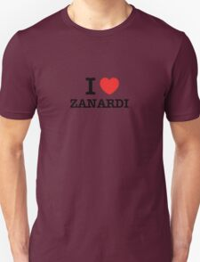I Love ZANARDI T-Shirt