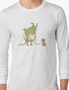A demon and his dog... Long Sleeve T-Shirt