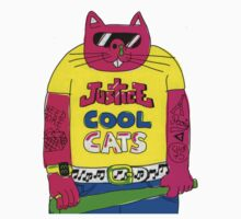 Cool Cats - Yellow / Justice Cat by Mrlagare456